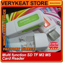 Multi function SD TF M2 MS Memory Card Reader