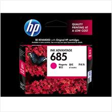 HP 685 Magenta Ink  (Genuine) CZ123AA 4615 4625 5525 6525