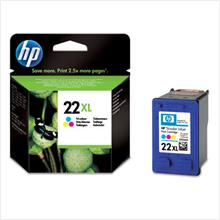 HP 22XL COLOUR Ink C9352CA (Genuine) HP22XL 1410 3920 3940 D2460 4355