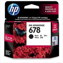 HP 678 Black Ink (Genuine) CZ107AA Advantage 2515 1515