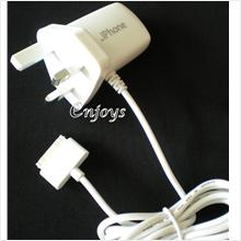 Enjoys: Travel Charger for Apple iPhone 4 4S 3G 3GS Touch4 iPod ~3Pin