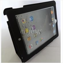 Enjoys: Genuine Leather Pouch Case Cover Apple iPad 2 3 4 ~BLACK