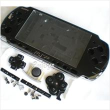 Enjoys: AP ORIGINAL HOUSING Sony PSP 3000 3006 Slim ~BLACK ~#FULL SET#