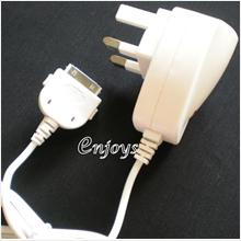 Enjoys: Travel Charger for Apple iPad 1 & iPad 2 3 ~3Pin ~2100mAh