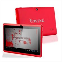 7' ewing Dual Core Hdmi Wifi +Ext 3G tablet RED