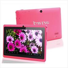 7' ewing Dual Core Hdmi Wifi +Ext 3G tablet PINK