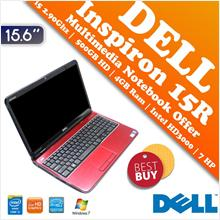 Dell Inspiron 15R (N5110) Core i5 Multimedia Notebook Raya Offer Deal!