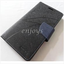 MERCURY Fancy Diary Book Case Cover Pouch Lenovo K900 ~Black