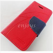 MERCURY Fancy Diary Book Case Cover Pouch Asus Zenfone 4 / Zen4 ~RED