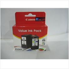 Canon PG-810 Black + CL-811 Colour Value Ink Pack(Genuine) PG810 CL811