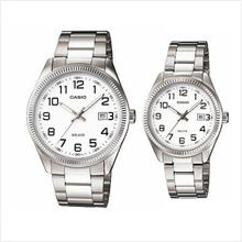 CASIO MTP-1302D-7BV + LTP-1302D-7BV COUPLE PAIR WATCH
