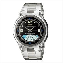 CASIO AW-82D-1AV FISHING GEAR ANA-DIGI With Fishing Tide & Moon Age WA