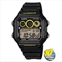 CASIO AE-1300WH-1AV WATCH ☑ORIGINAL☑