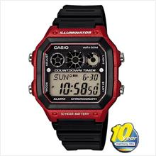 CASIO AE-1300WH-4AV WATCH ☑ORIGINAL☑