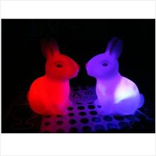 L066 Rainbow Color Rabbit
