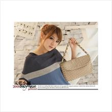 SB5037_Beige Taiwan Skyblue Bag