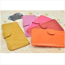 PR003_Red Korean qnigirls long thin wallet