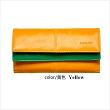 PR076_Yellow Samilon Splendours Dermis Wallet