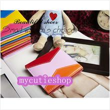 PR068_Red Mix Color Short Wallet