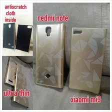 xiaomi mi3 redmi note aluminium metal ultra thin case cover GOLD