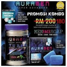 Aura Men + Aura Men Face Soap Combo