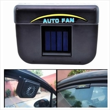 Solar Panel SUN POWER WINDOW FAN VENTILATOR AUTO COOL AIR FOR 10 ONLY