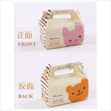 Bear Cake Box / Tart Box / Moon Cake Box