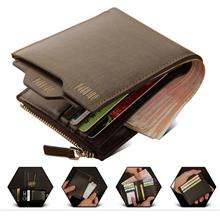Offer! Promotion! Men Premium Genuine Leather Wallet { Free Keychain }