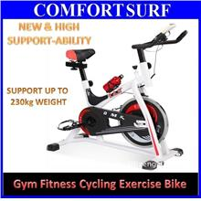 NEW Design High Support Gym Spinning Iron Bicycle Cycle Exercise Bike