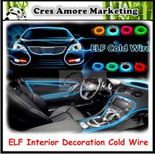 EL Car Interior Atmosphere Decoration Ambience Cold Wire Light