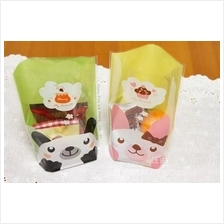 Cutie Bear & Cat Cookie / Bread Plastic Bag (20pcs)