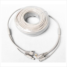 18M Cat 5 and Power Cable Two-in-One for IP Camera