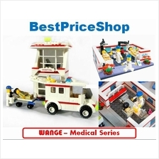 LEGO compatible - WANGE Medical Doctor Series - education brick games