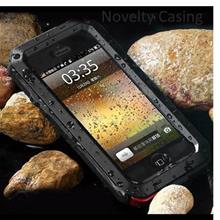 iphone 5S 6 PLUS Samsung S5 S6 Edge Note 3 4 5 Metal Waterproof case