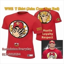 WWE WWF T Shirt  (John Cena New Red)