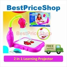 2 in 1 Children Educational Learning Projector - Creative Toy