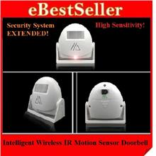 New Intelligent Wireless IR Motion Sensor Welcome Doorbell Door Bell-5
