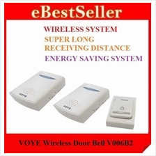VOYE Super Long Receiving Distance Wireless Door Bell V006B2(doorbell)