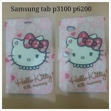 Galaxy Tab 7 plus P6200 tab2 7 P3100 hello kitty flip case cover