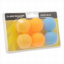 Dunlop Duo Glo Table Tennis Ball x12 RM50