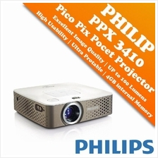 Philips PicoPix Pocket Projector - PPX3410 (LED Projector)