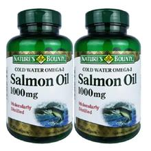 Nature's Bounty Cold Water Omega-3 Salmon Oil 1000mg 2x120's