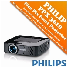 Philips PicoPix Pocket Projector - PPX3610 (LED Projector)