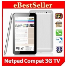 Netpad Compact android 4.2 Tablet PC Build in 3G + TV Tuner function