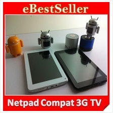 NEW Netpad W8 Android Tablet PC with Build in Sim card and Bluetooth