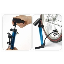 Bicycle Mini portable Pump With Built-in Pressure Gauge