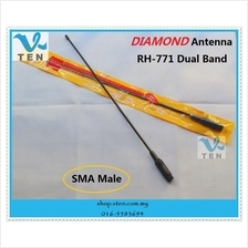 Diamond RH-771 SMA Male dual band antenna for Yaesu PUXING TYT Wouxun