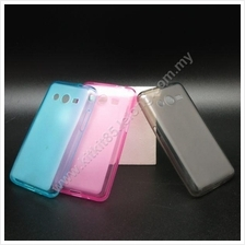 Samsung Galaxy Core 2 G355H Pudding Transparent TPU Soft Tinted Case