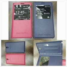Samsung Galaxy Note 3 Neo S view Leather Flip Window Battery Cover