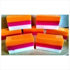 SABUN GLUTA+KOJIC+COLLAGEN:3 LAYER + GRAPE SEED Original Gluta Soap~